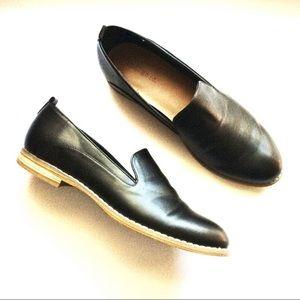 Indigo Road Black Hestley slip on loafers